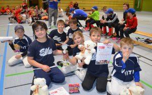 TSV und Heidenheimer Kinder T-Ball Team